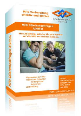 Buch Anleitung MPU Vorbereitung Alkohol