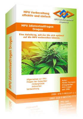 Buch Anleitung MPU Vorbereitung Drogen