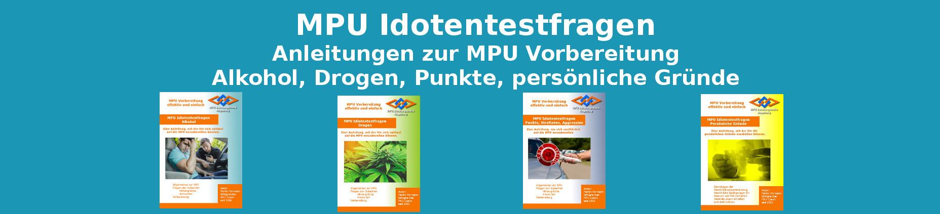 Buch Anleitungen MPU Vorbereitung